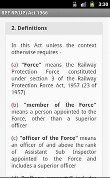 RPF RP(UP) Act App apk screenshot