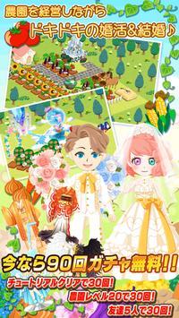農園婚活 きせかえアバターで婚活して結婚できる農園ゲーム ポスター
