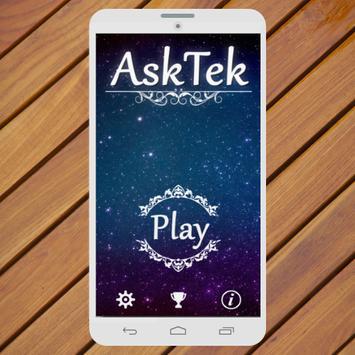 Ask Questions Tek poster