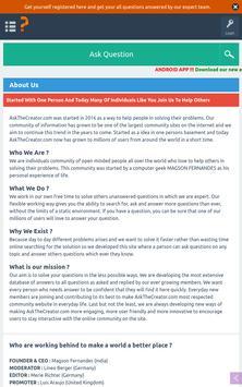 Ask The Creator Lite screenshot 9