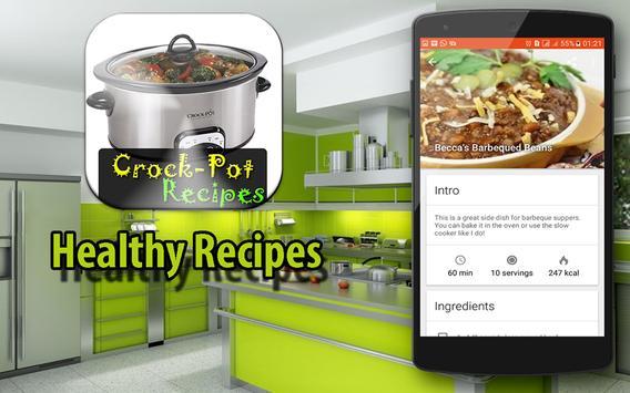 Tasty Slow Cooker Recipes screenshot 1