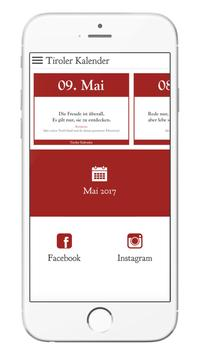 Tiroler Kalender poster