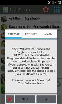 Birds Sounds 200+ apk screenshot