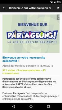 Partageons apk screenshot