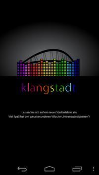 Klangstadt Villach Demo poster