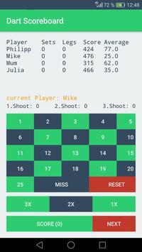 180 - Dart Scoreboard apk screenshot