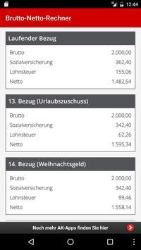 BruttoNettoRechner apk screenshot