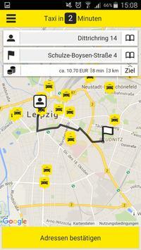 Leipzig Taxi 4884 screenshot 2