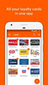 mobile-pocket loyalty cards poster