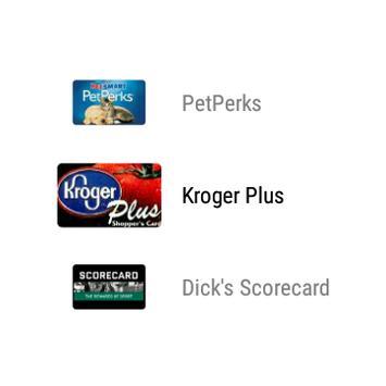 mobile-pocket loyalty cards apk screenshot