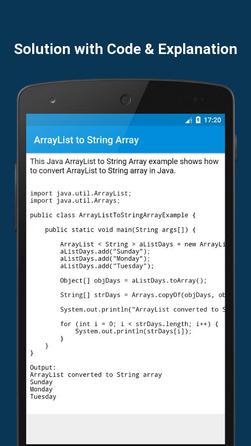 400+ Java Programs with Output for Android - APK Download