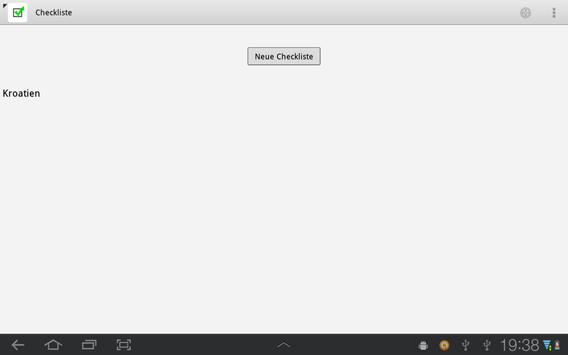 Checkliste Light screenshot 6