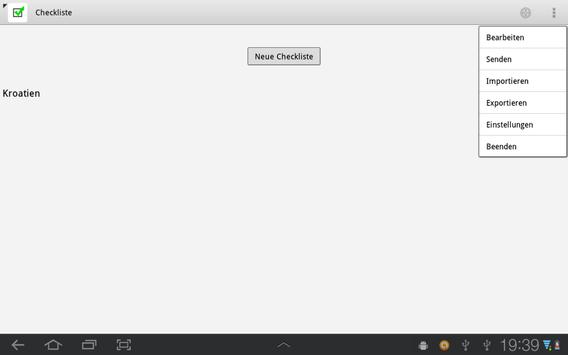 Checkliste Light screenshot 7