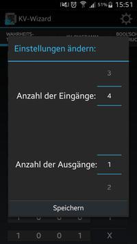 Karnaugh-Wizard screenshot 3