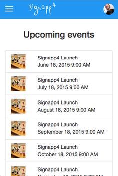 signapp4 スクリーンショット 1