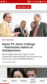 kurier.at screenshot 1