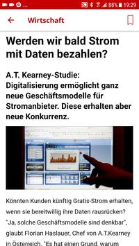 kurier.at screenshot 2
