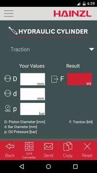 HAINZL Hydraulic Calculator screenshot 3