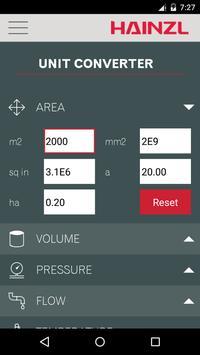 HAINZL Hydraulic Calculator screenshot 4