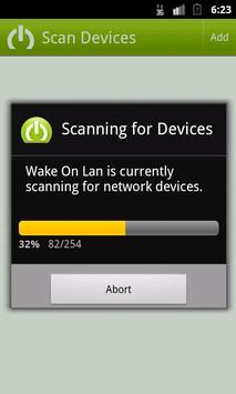 Wake on Lan - mit Widget captura de pantalla 3