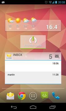 Wake on Lan - mit Widget captura de pantalla 4