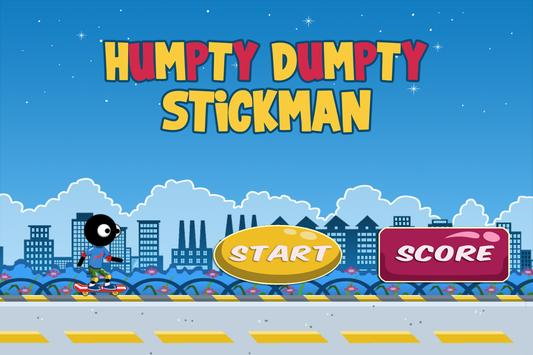 Humpty Dumpty Stickman apk screenshot