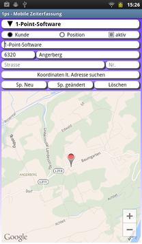 Mobile Zeiterfassung - Demo apk screenshot