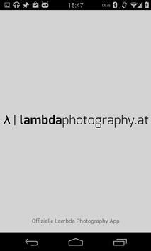 Lambda Photography poster