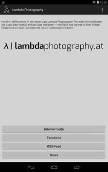Lambda Photography apk screenshot