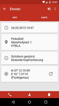 First Responder Burgenland apk screenshot