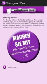 Watchgroup Wien poster