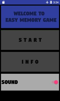 Easy Memory Game poster