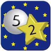 EuroMillions Numbers & Statistics icon