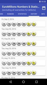 EuroMillions Numbers & Statistics screenshot 3