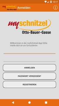 mySchnitzel - Otto-Bauer-Gasse poster