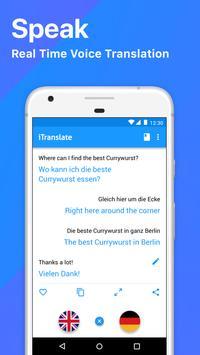iTranslate - Traductor de Idiomas y Diccionario captura de pantalla de la apk
