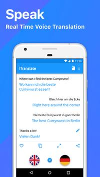 iTranslate Translator & Dictionary apk تصوير الشاشة