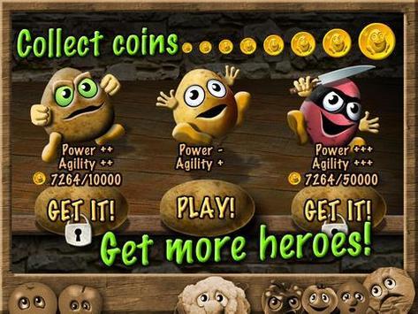 Potato Escape - Endless Runner screenshot 9