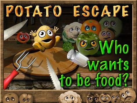 Potato Escape - Endless Runner poster