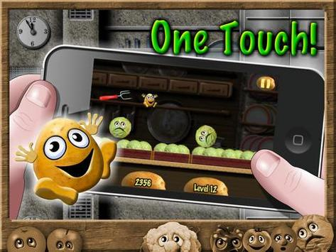 Potato Escape - Endless Runner screenshot 1
