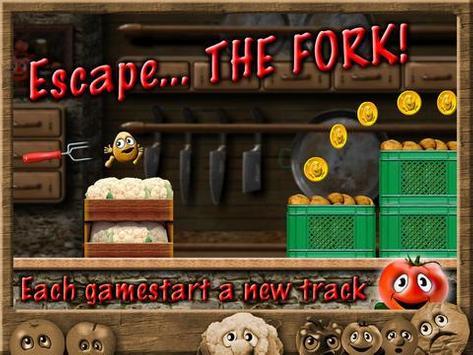 Potato Escape - Endless Runner screenshot 2