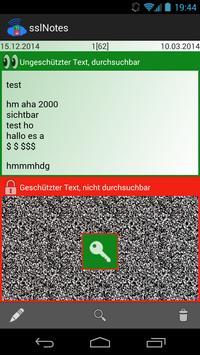 sslNotes screenshot 1