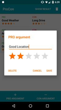 ProCon - Decision Maker apk screenshot