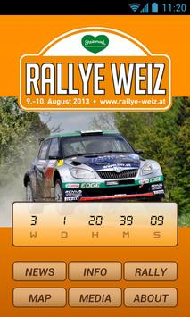 Rallye Weiz poster