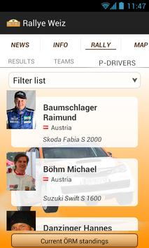 Rallye Weiz screenshot 1