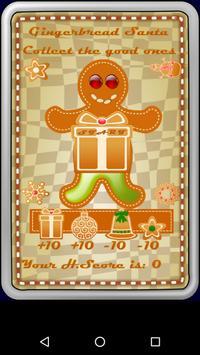 Gingerbread Santa poster