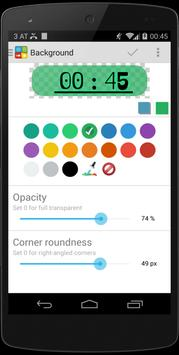 Clock Battery Calendar Widget apk screenshot