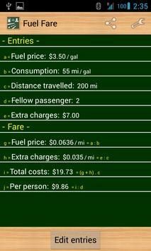 Fuel Fare screenshot 1