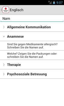 medTranslate - Rotes Kreuz screenshot 1