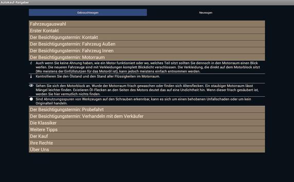 Autokauf-Ratgeber apk screenshot